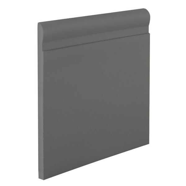 0.25 x 720 x 4.25 Cove Molding in Charcoal by ROPPE