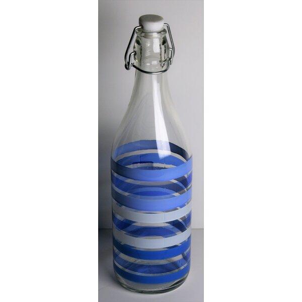 Hadnot 34 oz. Glass Water Bottle (Set of 2) by Ebern Designs