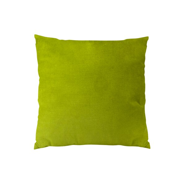 Contentment Grass Cotton Throw Pillow by Plutus Brands