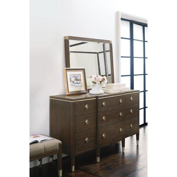 Clarendon 9 Drawer Dresser with Mirror by Bernhardt