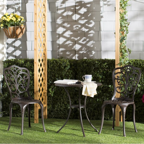 Nancy 3 Piece Bistro Set by Fleur De Lis Living