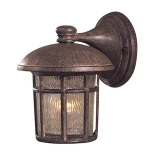 Buying Cranston 1-Light Outdoor Wall Lantern By Great Outdoors by Minka