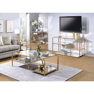 Gauvin 3 Piece Coffee Table Set by Everly Quinn