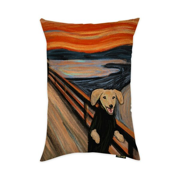 Alsace The Bark Throw Pillow by Red Barrel Studio