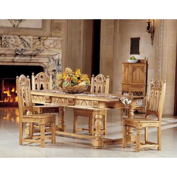 Sudbury 5 Piece Dining Set by Design Toscano
