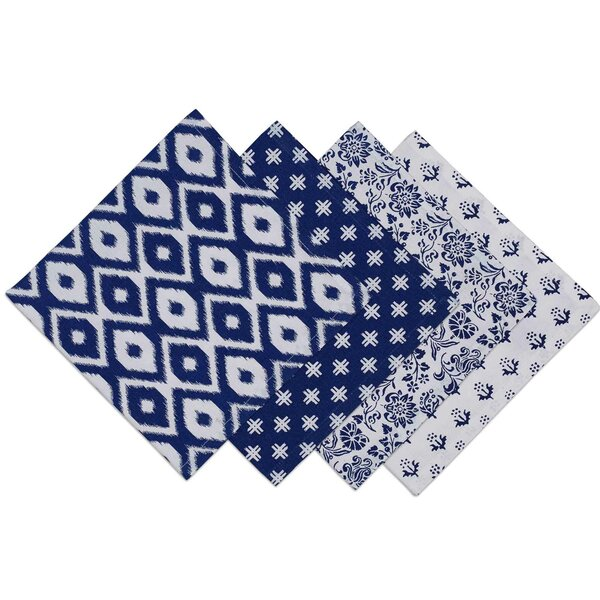 Blue Prints Napkin (Set of 4) by Design Imports