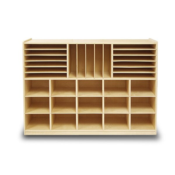 Art Station and File Organizer 32 Compartment Cubby by A+ Child Supply