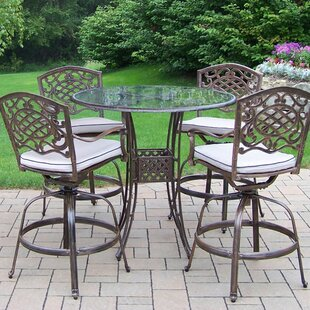 Hummingbird Mississippi 5 Piece Bar Height Dining Set By Oakland Living