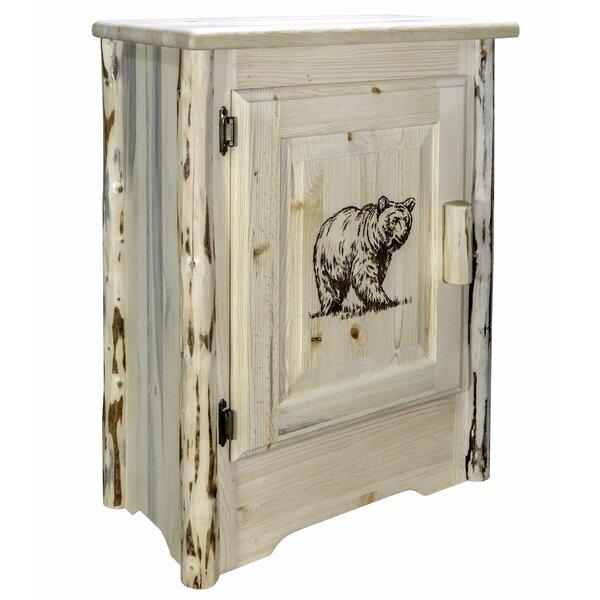 Shreffler 1 Door Accent Cabinet By Millwood Pines
