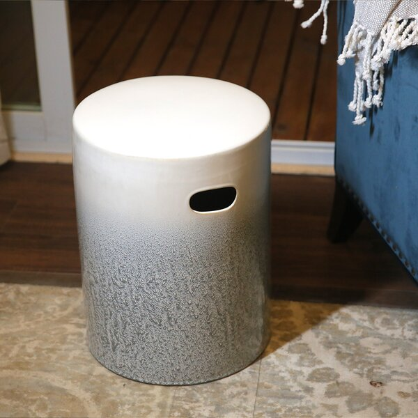 Andrew Ceramic Garden Stool by Rosecliff Heights