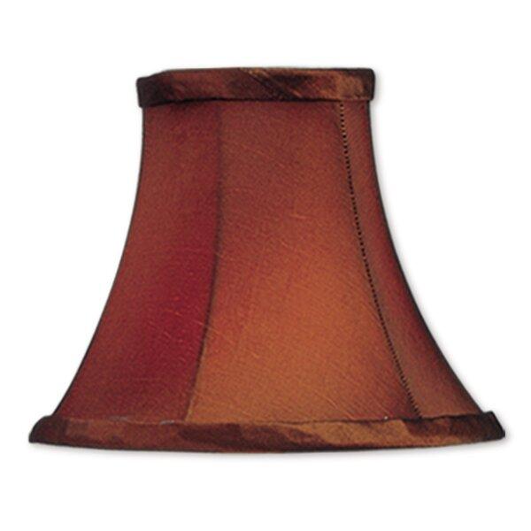 5 H Silk/Shantung Bell Candelabra Shade ( Clip On ) in Brown