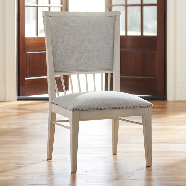 Tennille Back Windsor Upholstered Dining Chair (Set of 2) by August Grove