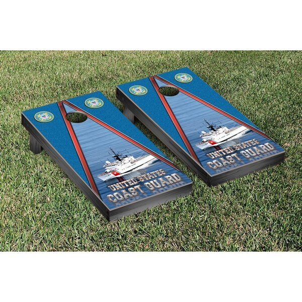NCAA US Coast Guard Cutter Version Cornhole Game Set by Victory Tailgate
