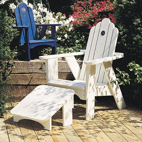Original Wood Adirondack Chair by Uwharrie Chair Uwharrie Chair