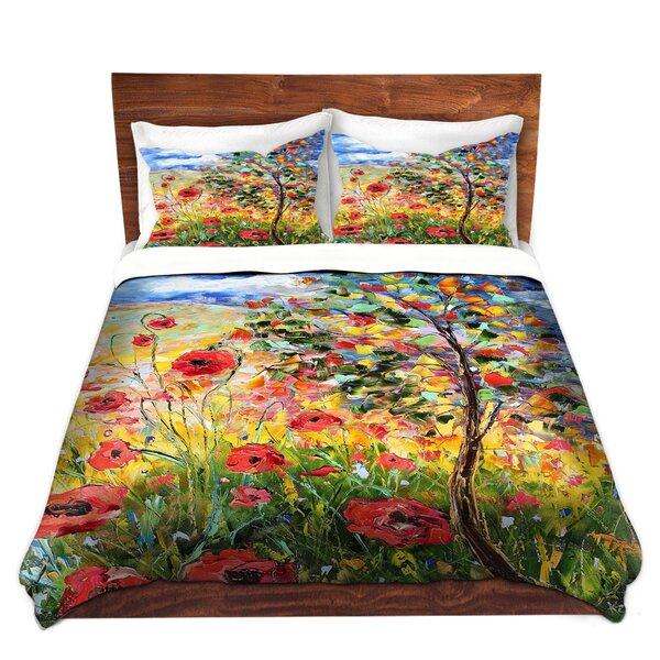 Provence Poppies Duvet Cover Set