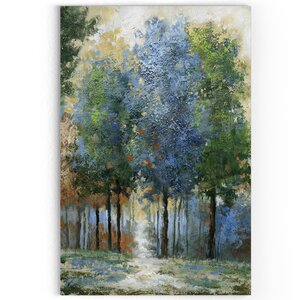 'Afternoon Light' Oil Painting Print on Wrapped Canvas by Alcott Hill