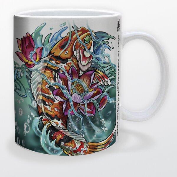 James Danger Koi Fish Coffee Mug by Pyramid America