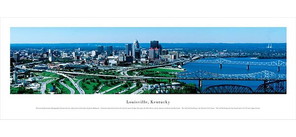 NCAA Louisville, Kentucky Photographic Print by Blakeway Worldwide Panoramas, Inc