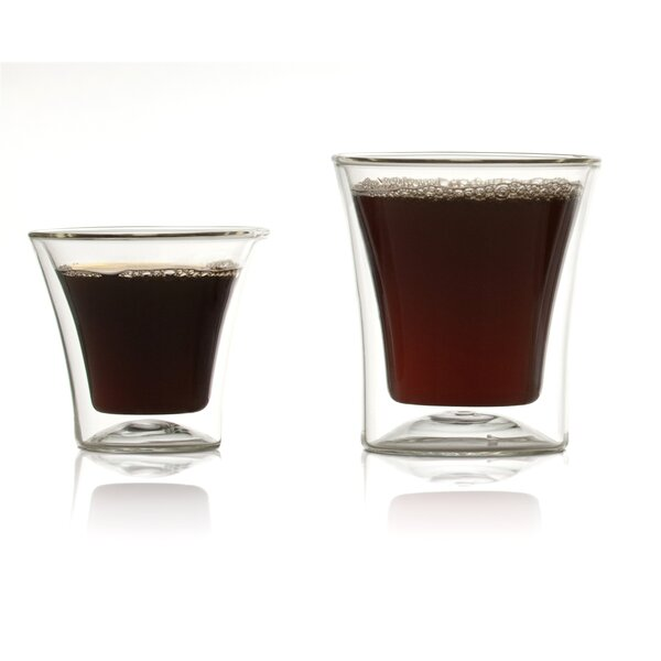 Eurojo Espresso Double Wall Glass (Set of 2) by Highwave Inc.