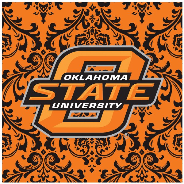 Oklahoma State University Square Occasions Trivet by Thirstystone