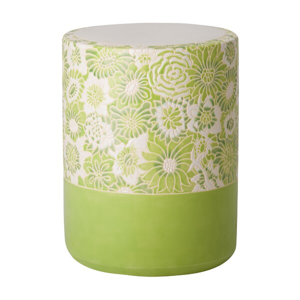 Erhart Garden Stool by Bungalow Rose