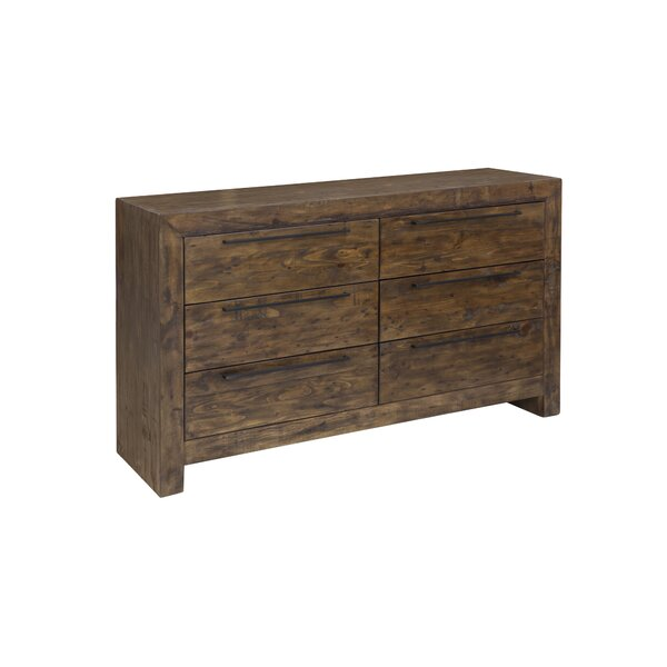 Carisbrooke 6 Drawer Double dresser by Foundry Select