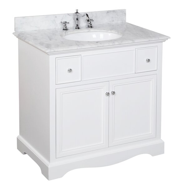Emily 36 Single Bathroom Vanity Set by Kitchen Bath Collection