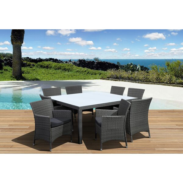 Finola 9 Piece Dining Set by Beachcrest Home