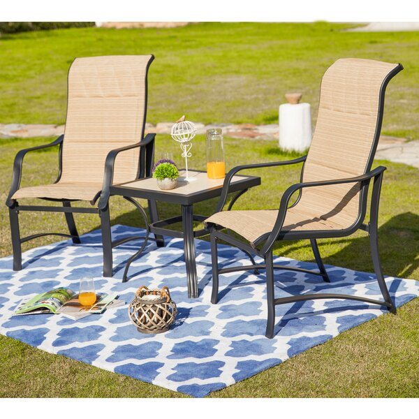 Strasser 3 Piece Seating Group by Charlton Home Charlton Home