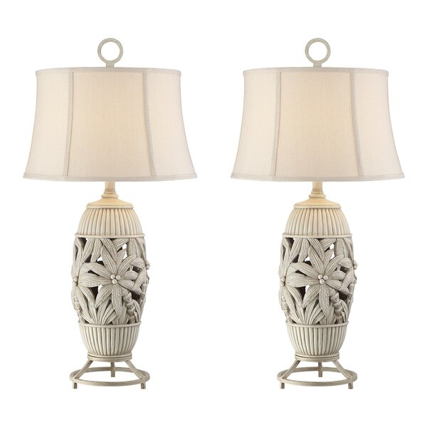 Rice Palm Tree 32 Table Lamp (Set of 2) by Bay Isle Home