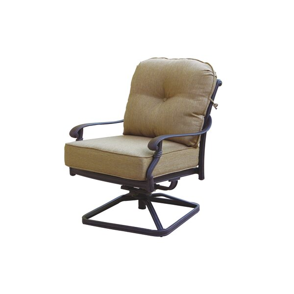 Windley Patio Chair with Cushion by Fleur De Lis Living