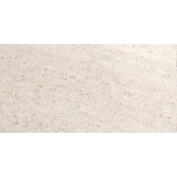 Presidio 12 x 24 Limestone Field Tile in Ivory by Emser Tile