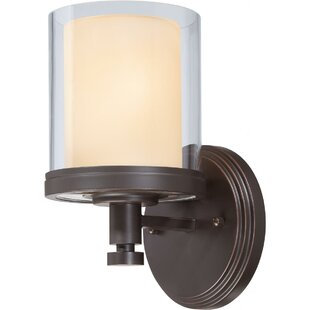 Guide to buy Bevilacqua 1-Light Outdoor Bath Sconce By Three Posts