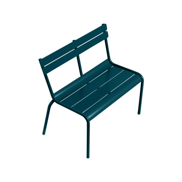 Luxembourg Childs Metal Garden Bench by Fermob