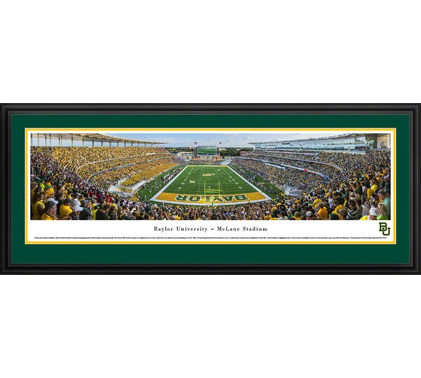 NCAA Baylor University by James Blakeway Framed Photographic Print by Blakeway Worldwide Panoramas, Inc