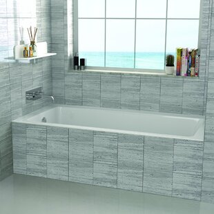Compare 60 x 30 Alcove Soaking Bathtub By Fine Fixtures