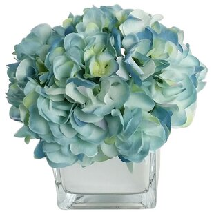 Blues hydrangea artificial flowers youll love wayfair blues hydrangea artificial flowers mightylinksfo Images