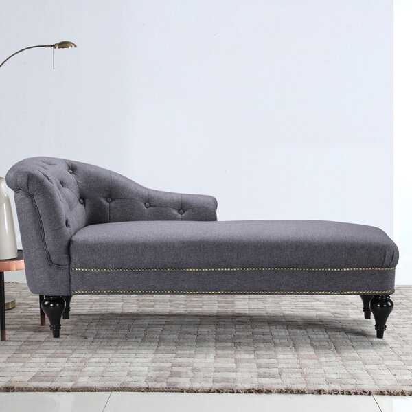 Hollain Chaise Lounge by House of Hampton