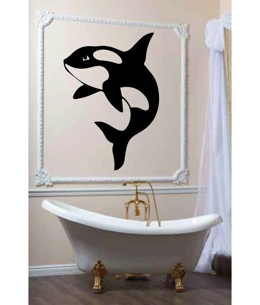 Hutsonville Orca Killer Whale Wall Decal by Zoomie Kids