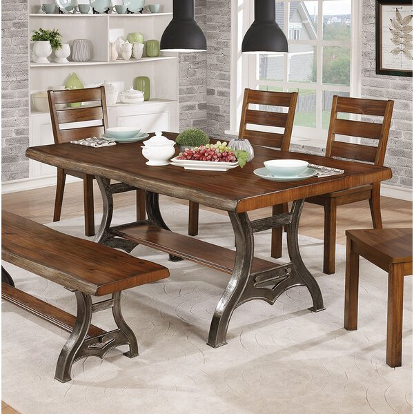 Justa Dining Table by Gracie Oaks