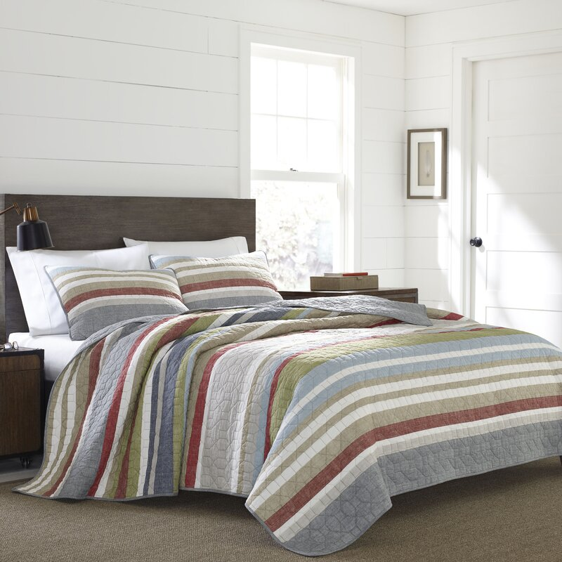 Salmon Ladder Quilt Set