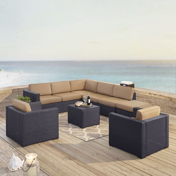 Seaton 7 Piece Sectional Seating Group with Cushions