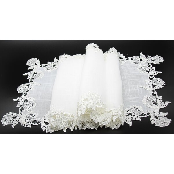 English Rose Table Runner by Manor Luxe