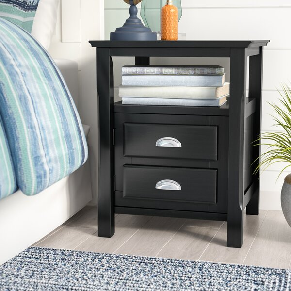 Mcgovern Traditional Wood Nightstand by Beachcrest Home