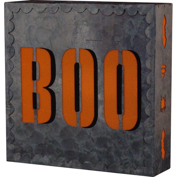 Boo LED Halloween Décor by Boston International