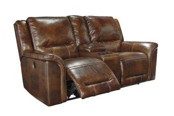 Jayron Leather Reclining Sofa