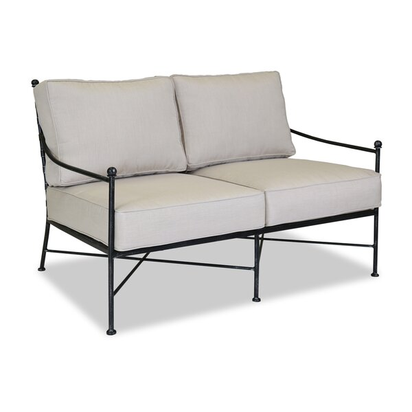 Provence Loveseat with Cushion by Sunset West Sunset West