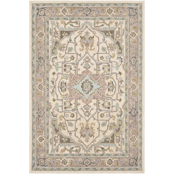 Greater Taree Hand Hooked Wool Olive/Butter Area Rug by Alcott Hill