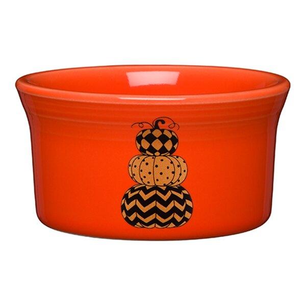 Round Ramekin Geo Pumpkins by Fiesta