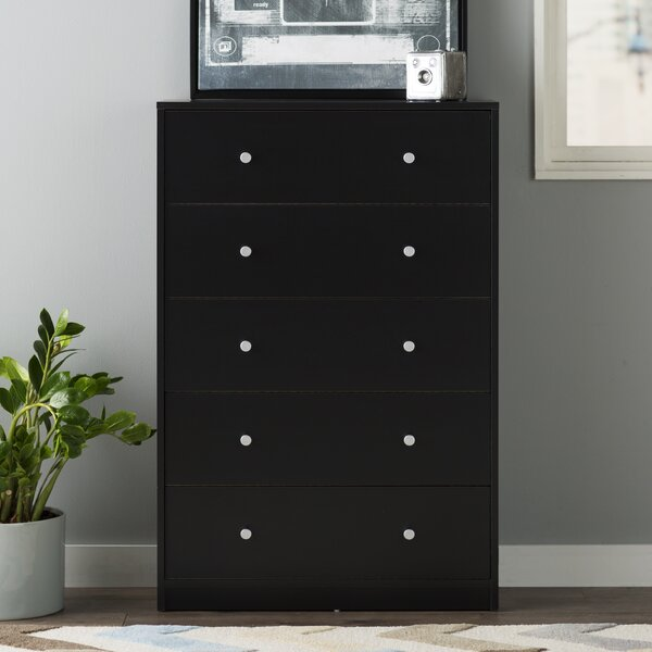Conder 5 Drawer Chest by Mercury Row